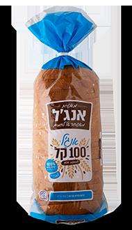 לחם אנג'ל 100 קל בתוספת שיפון